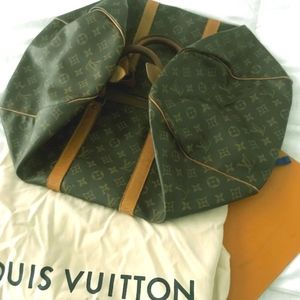 LOUIS VUITTON Keepall 45 Duffel (Vintage LV)